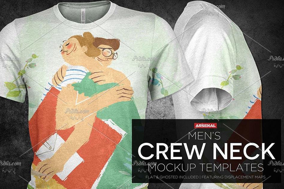 ع تی برای طراحی دانلود طرح لایه باز موکاپ و پیش نمایش تی شرت مردانه با ...